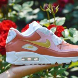 Custom rose gold airmax 90s