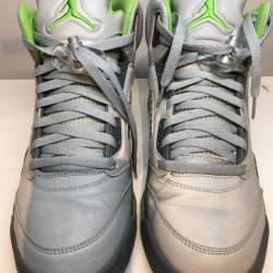 Jordan 5 green bean