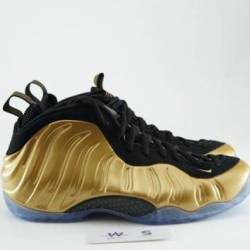 Air foamposite one metallic go...