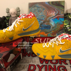 Nike kyrie 4 yellow lobster tv...