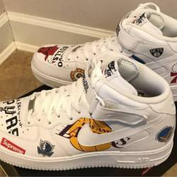 Supreme x nba x nike air force...