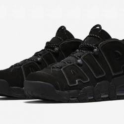 Nike air more uptempo black/bl...