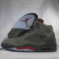 Nike air jordan 5 v retro gree...
