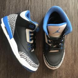 Air jordan 3 gs sport blue
