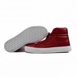 Vans sk8 hi cup red leather vn...