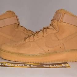 Nike air force 1 high flax whe...