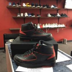 Air jordan 2 retro black varsi...