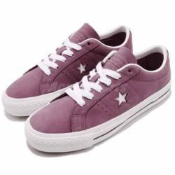 Converse one star pro purple w...