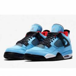 Air jordan 4 retro x travis sc...