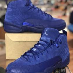 Air jordan 12 deep royal blue ...