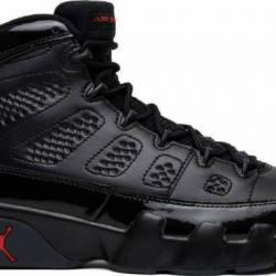 Nike air jordan retro 9 ix bla...
