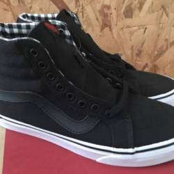 Vans sk8 hi reissue twill and ...