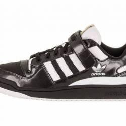 Men adidas forum low black/whi...