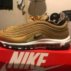 Air max 97 metallic gold italy