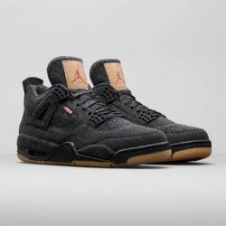 Levis x air jordan 4 retro bla...