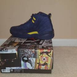 Retro 12 michigan pe