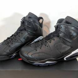 Nike air jordan 6 retro black ...