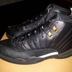 Nike air jordan 12 xii black/w...