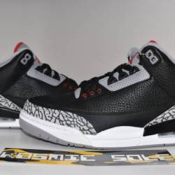 Nike air jordan 3 retro black ...