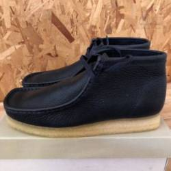 Clarks wallabbe boot - navy le...