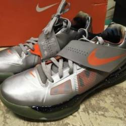 Used mens nike kd iv as all st...