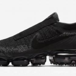 Nike air vapormax laceless bla...