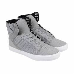 Supra skytop mens gray leather...