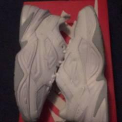 Nike white tekno