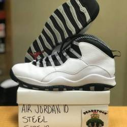 Air jordan 10 - steel size 12