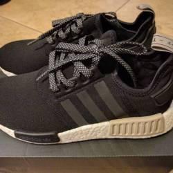 Adidas nmd r1 black light brow...