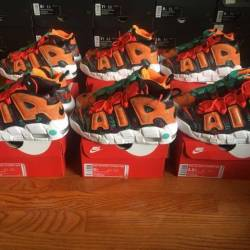 New nike air more uptempo gs w...