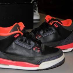 Nike air jordan iii 3 crimson ...