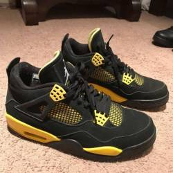 shop air jordan 4 thunder kixify marketplace