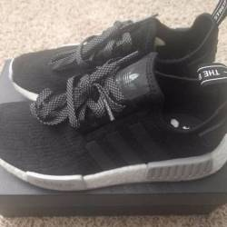 Adidas nmd r1 core black/grey ...