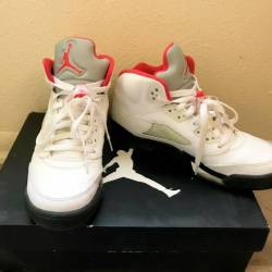 Nike air jordan 5 retro fire r...