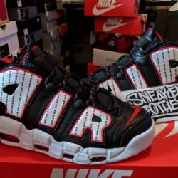 Nike air more uptempo pinstrip...