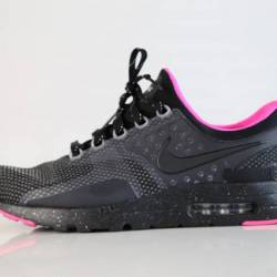 Nike id air max zero black pin...
