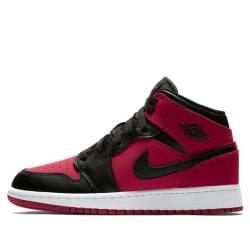 Nike air jordan 1 mid gym red ...