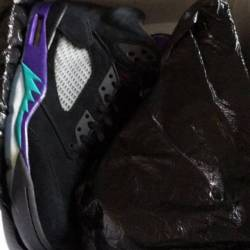 Black/new emerald-grape ice