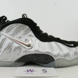 Air foamposite pro silver surf...