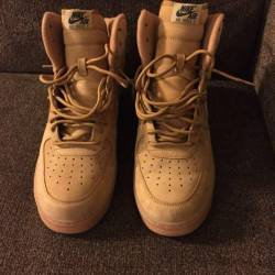 "Af1 high ""flax wheat timbs"""