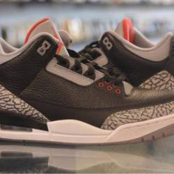 Jordan 3 black cement pre owned