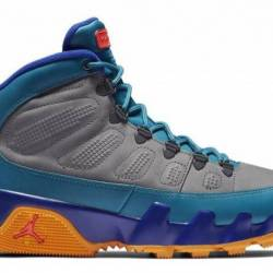 Air jordan 9 boot green abyss