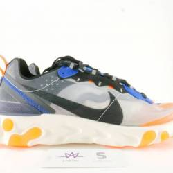 Nike react element 87 orange s...