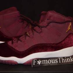 Air jordan 11 gs heiress velvet