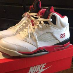 Air jordan 5 retro fire red