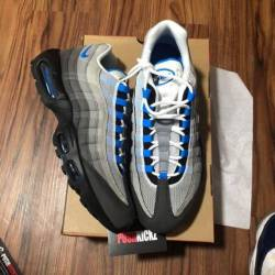Nike air max 95 crystal blue