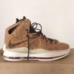 sports shoes 919b2 52771  400.00 Lebron 10 ext cork. Nike air lebron x 10 cork qs ...