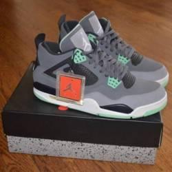 Jordan 4 green glow
