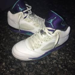 Jordan retro 5 grape (2013) si...